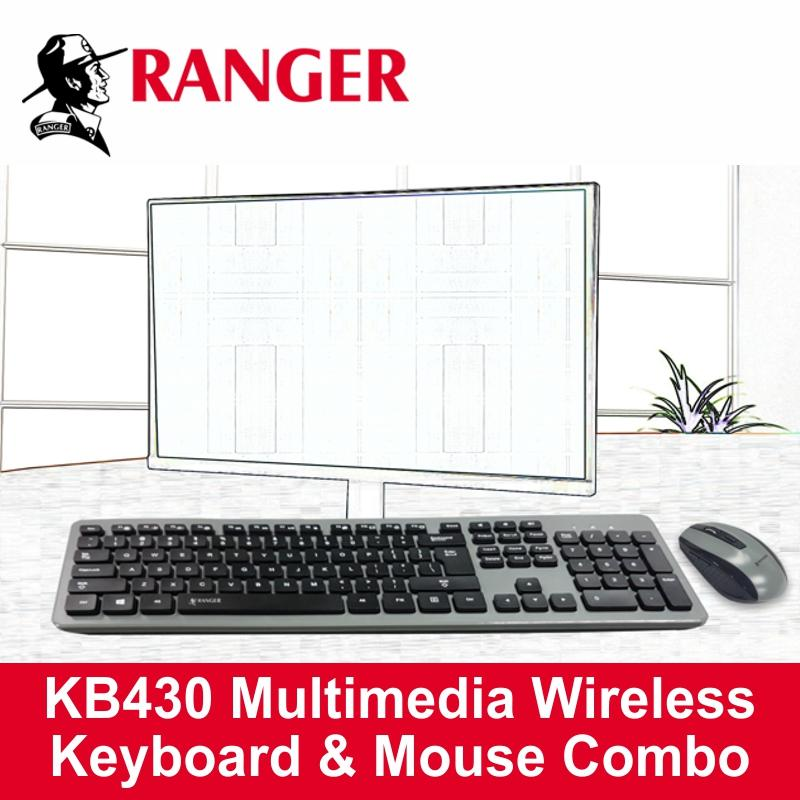 RANGER 2.4GHz Wireless Keyboard With 6-Key Mouse RG2ACKB430 Singapore