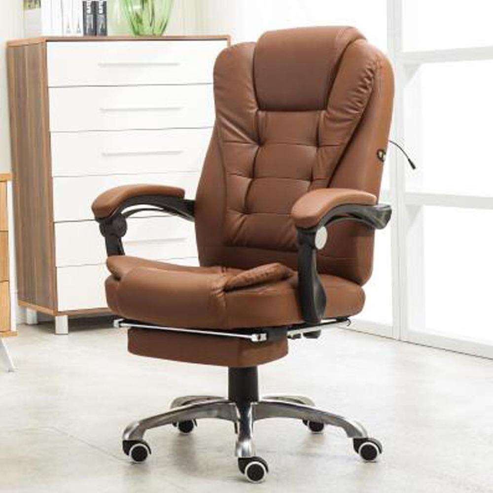 BOSS Office Chair - With Legrest & Massage Functions ( Free Installation +  1 Year Warranty ) (Massage Chair) Singapore