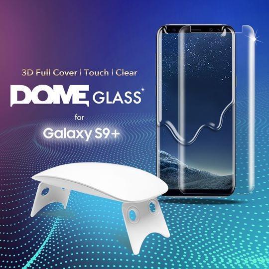 Sale For Galaxy S9 Plus Whitestone Dome Screen Glass Whitestone Dome Glass Wholesaler