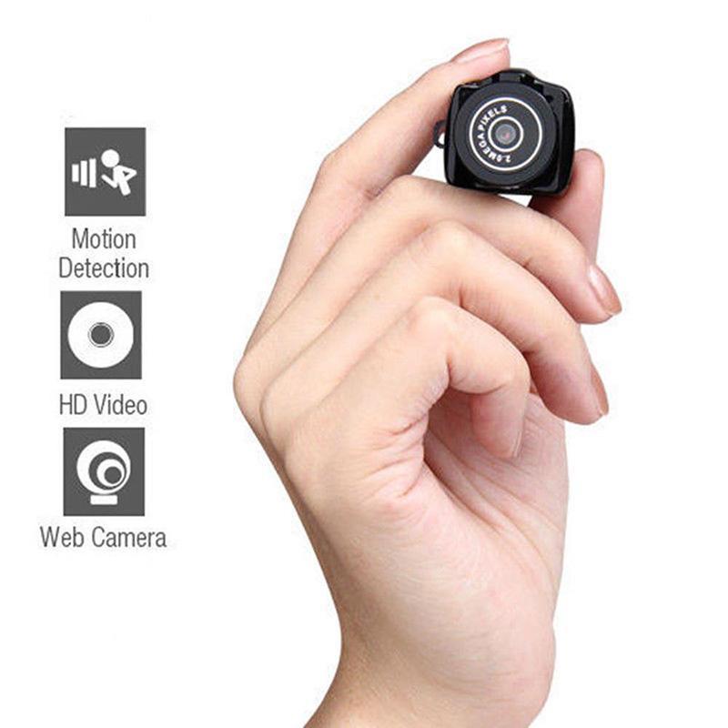 Kamera Nirkabel Mini Video Audio HD Perekam Web Camcorder Kecil DV DVR Keamanan Rahasia Pengasuh Mobil Sport Kamera Mikro dengan Mic-Intl