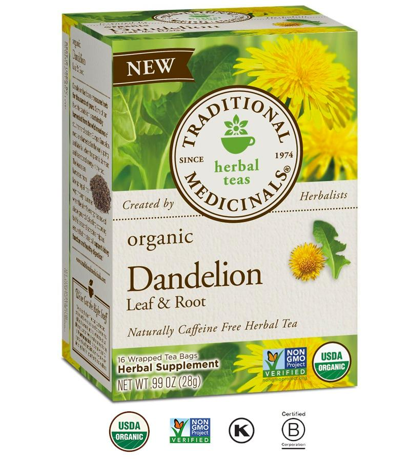 Price Traditional Medicinals Organic Dandelion Leaf And Root Herbal Tea On Singapore