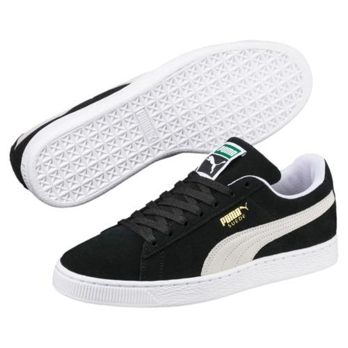 Compare Puma Suede Classic Men Sneakers Black Whiteblack White