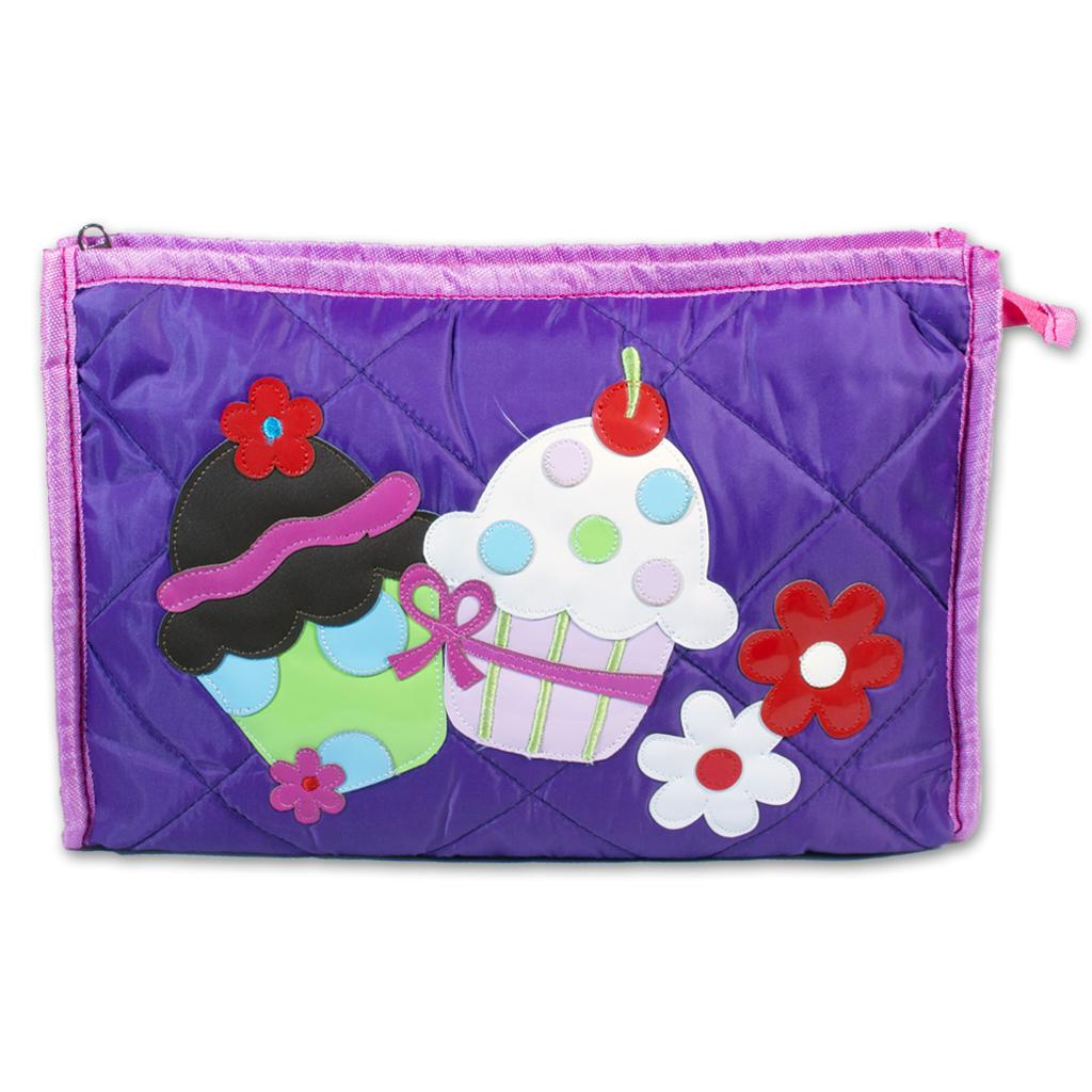 Kids  Multi pocket Pouches - Cupcake