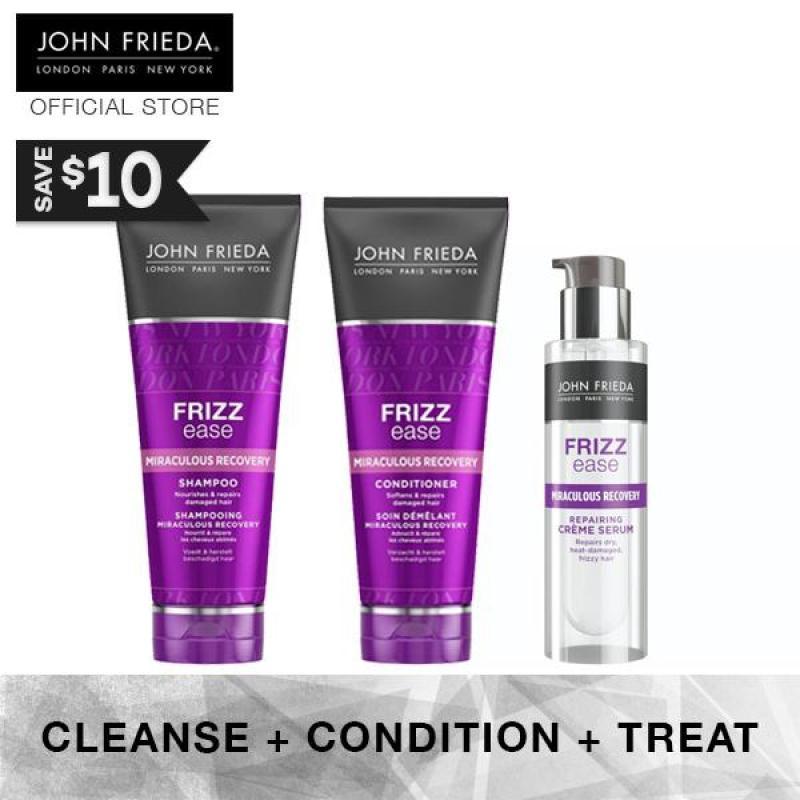 Buy Bundle - John Frieda Frizz Ease Miraculous Recovery Complete Set 1 (+ Cr�me Serum) Singapore
