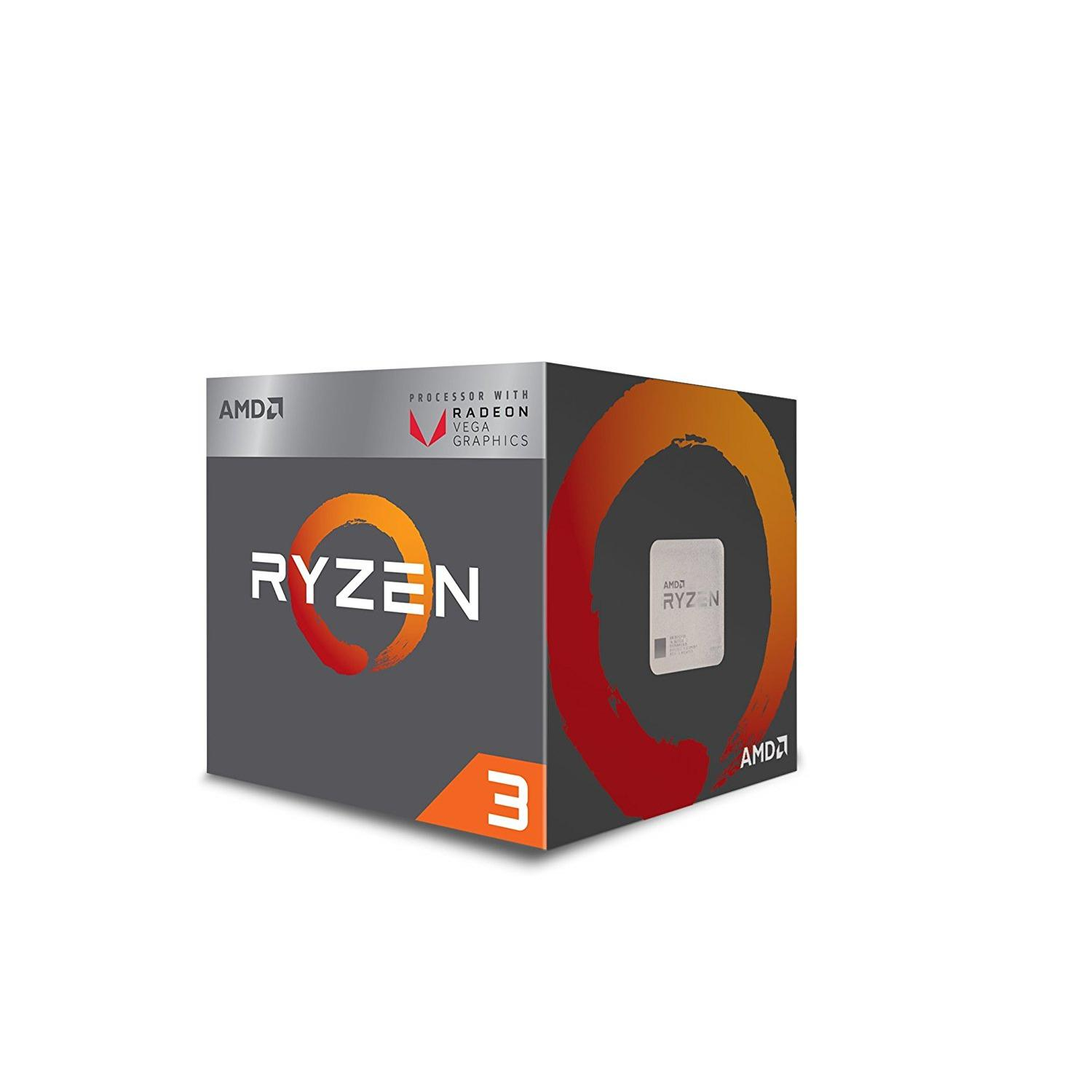 Buy Amd Ryzen 3 2200G 3 7Ghz 4C4T 65W 6Mb Cache Cpu With Radeon Vega 8 Graphics Am4 Socket With Wraith Stealth Cooler