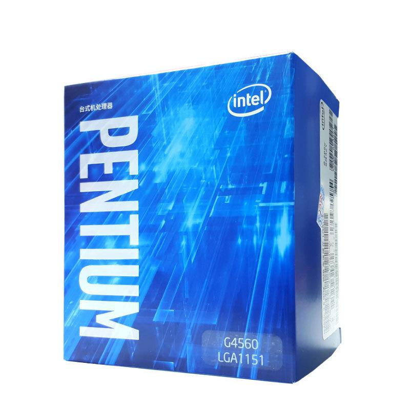Intel / Intel G4560 Pentium 3.5G Boxed CPU Seven Generations Of Dual-core Four-thread Fight 6100