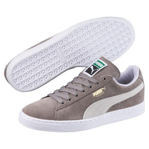 2607d91c99 Puma Suede Classic+ Men Sneakers - Steeple gray-whiteSteeple gray-white