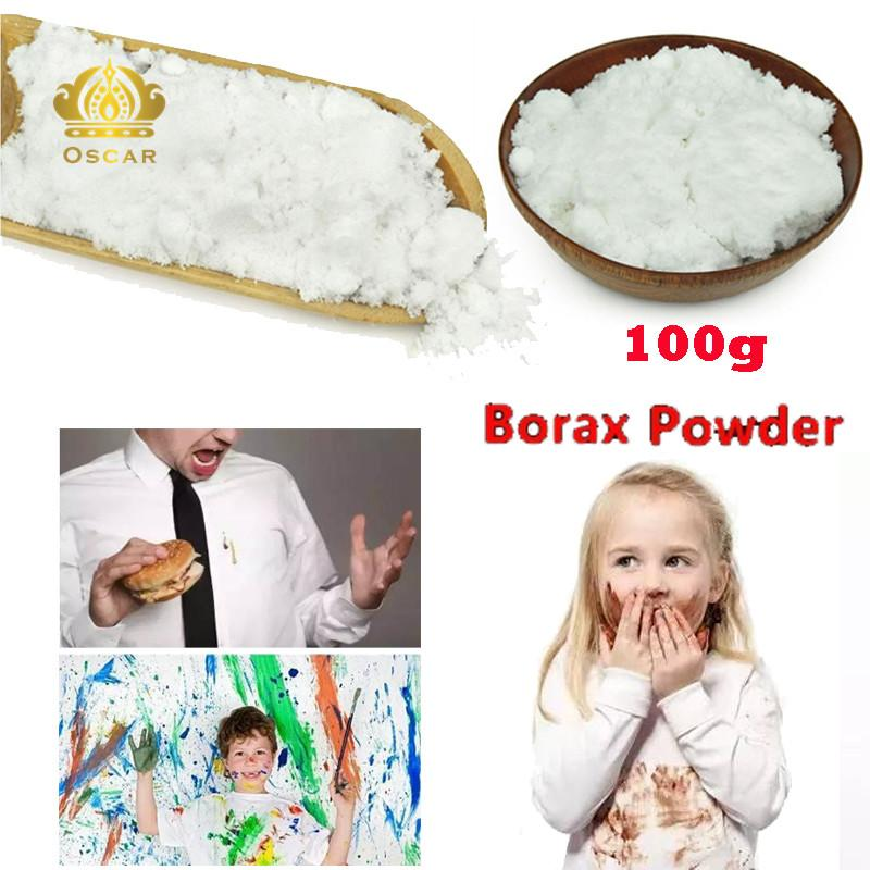 Oscar Store Borax Powder Sodium Tetraborate Anhydrous Borax Laundry Home Cleaning Tool White - intl