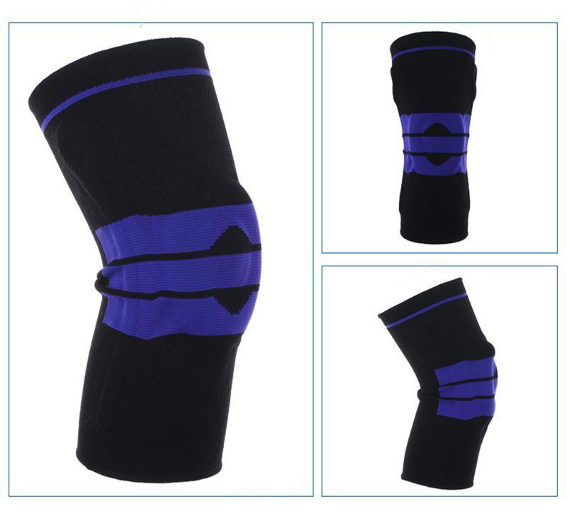 ... Elastic Knee Support Brace Kneepad Adjustable Patella Knee Pads Basketball Safety Guard Strap Protector Silica Gel - intl. updated Mon 11-Mar-19. Lazada