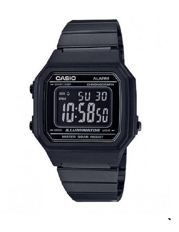 Casio Watch Vintage Black B650Wb 1Bdf For Sale Online