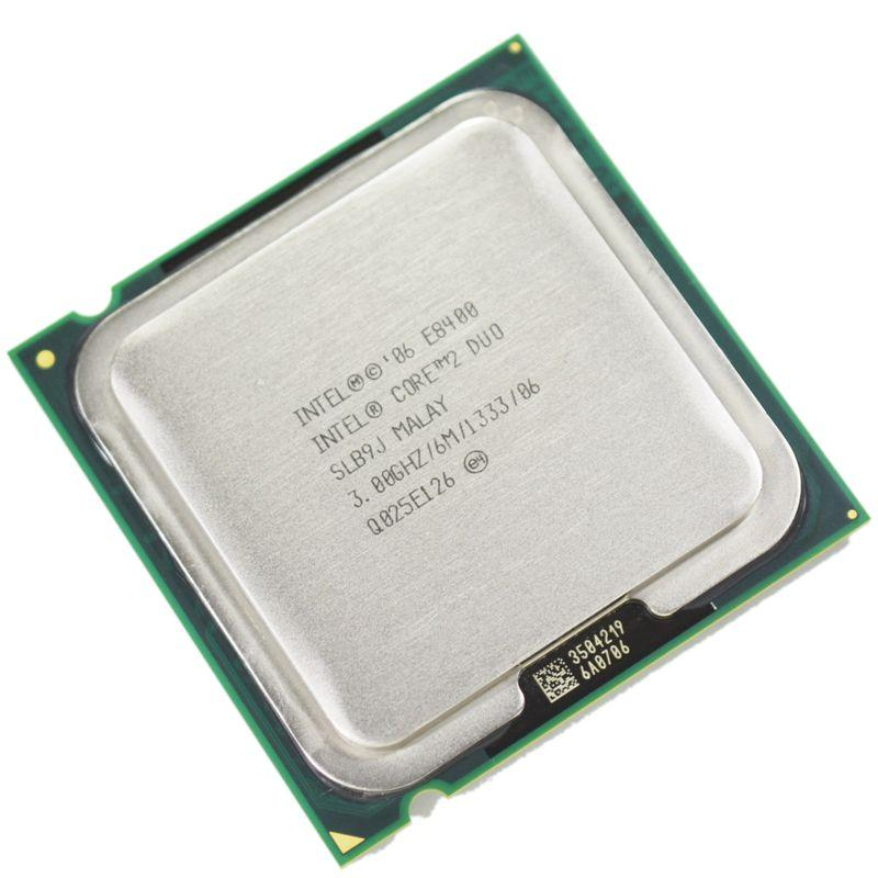 100% Bekerja Intel Core 2 Duo E8400 Prosesor 3.0 GHz 6 M 133Hz Dual-Core Socket 775 CPU -Intl