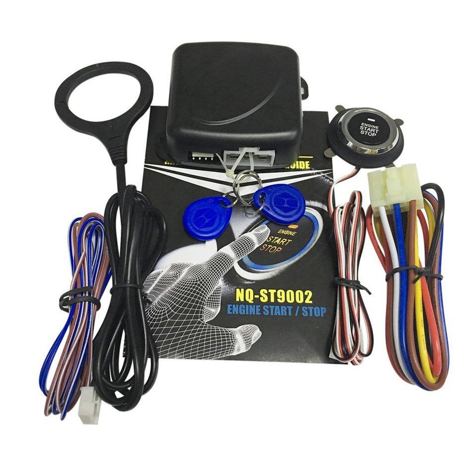 E-Era Car Alarm System With Remote Start Car Push Button Keyless Entry Door Lock By Empire Era.