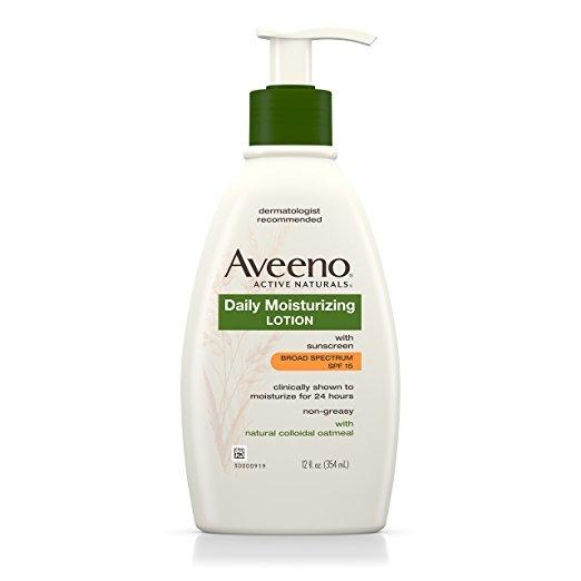Aveeno Daily Moisturising lotion with sunscreen 354ml