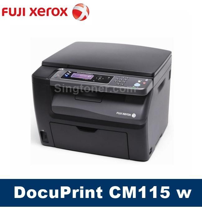 Singapore Warranty Fuji Xerox CM115w Business Color Multifunction Printer DocuPrint CM115 W