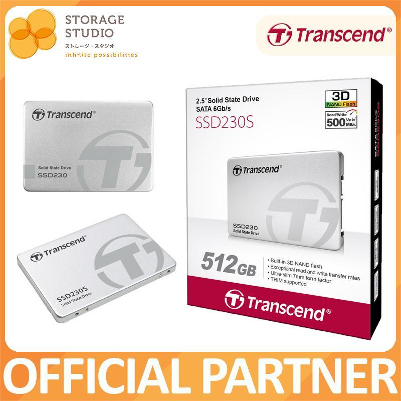 """TRANSCEND SSD230 2.5/"""" SATA III 6GB//S SSD  560MB//s Read 520MB//s Write 256GB st"""