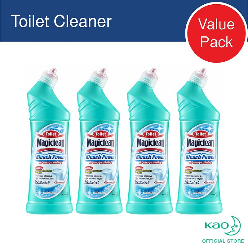 Where Can You Buy Magiclean Toilet Bleach Power 500Ml Set Of 4