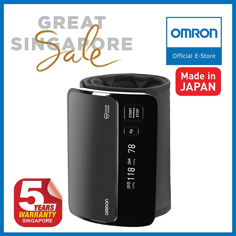 Sale Omron Upper Arm Blood Pressure Monitor Hem 7600T Online Singapore