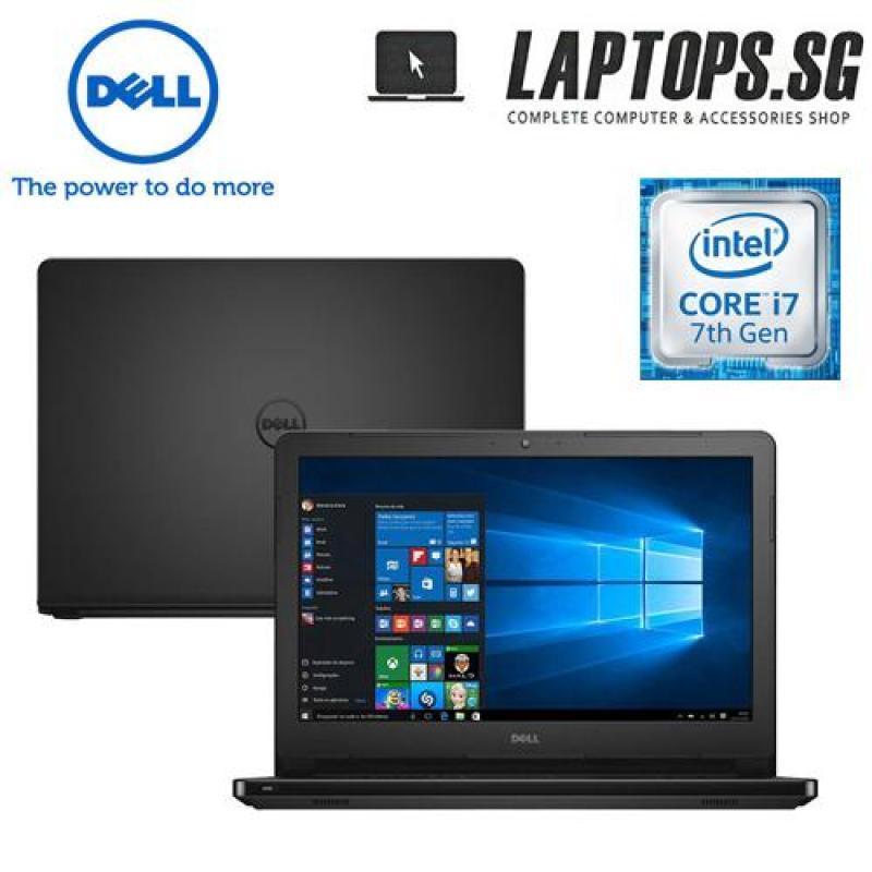 DELL INSPIRON 14 5000series i7 - 7500u / 4GB RAM / 1TB HDD / 2GB AMD GRAPHICS / WIN 10 HOME / 14INCH HD SCREEN