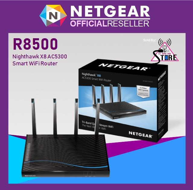 Netgear R8500 Ac5300 Nighthawk X8 Smart Wifi Router Lowest Price