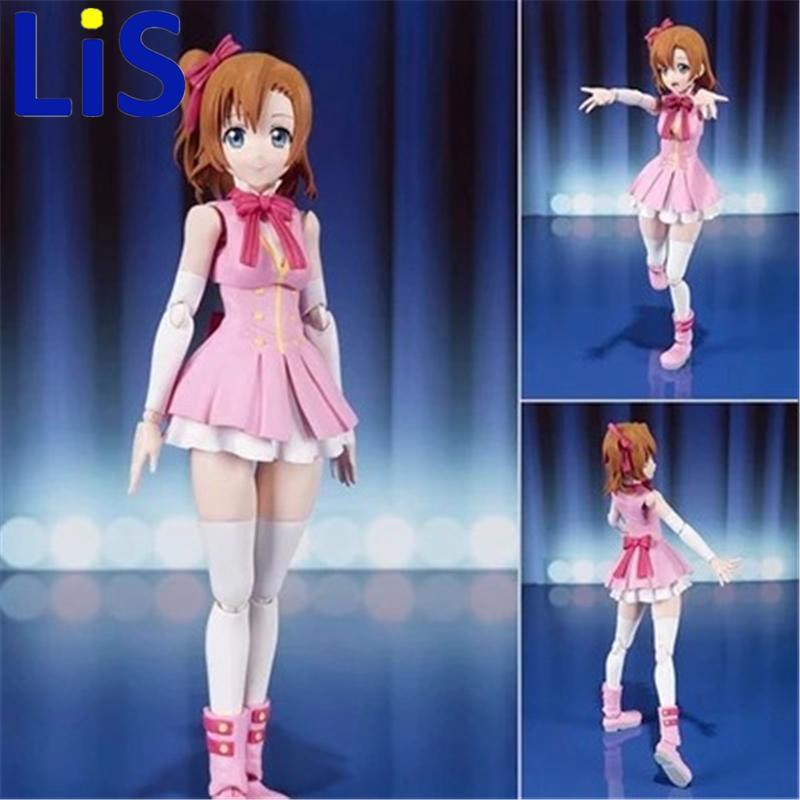 Lis 13 Cm Anime Jepang Love Live S.h. Figuarts SHF Kousaka Honoka Gadis Figur Pvc Patung