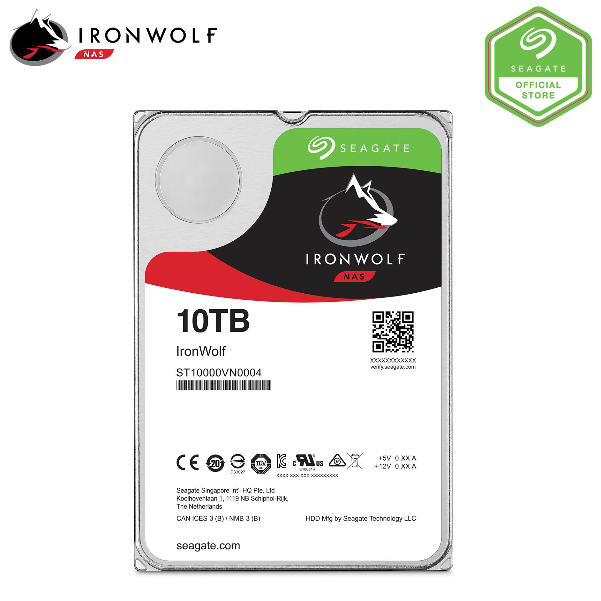Buy Seagate Ironwolf Nas 10Tb 3 5 Hard Disk Seagate Original
