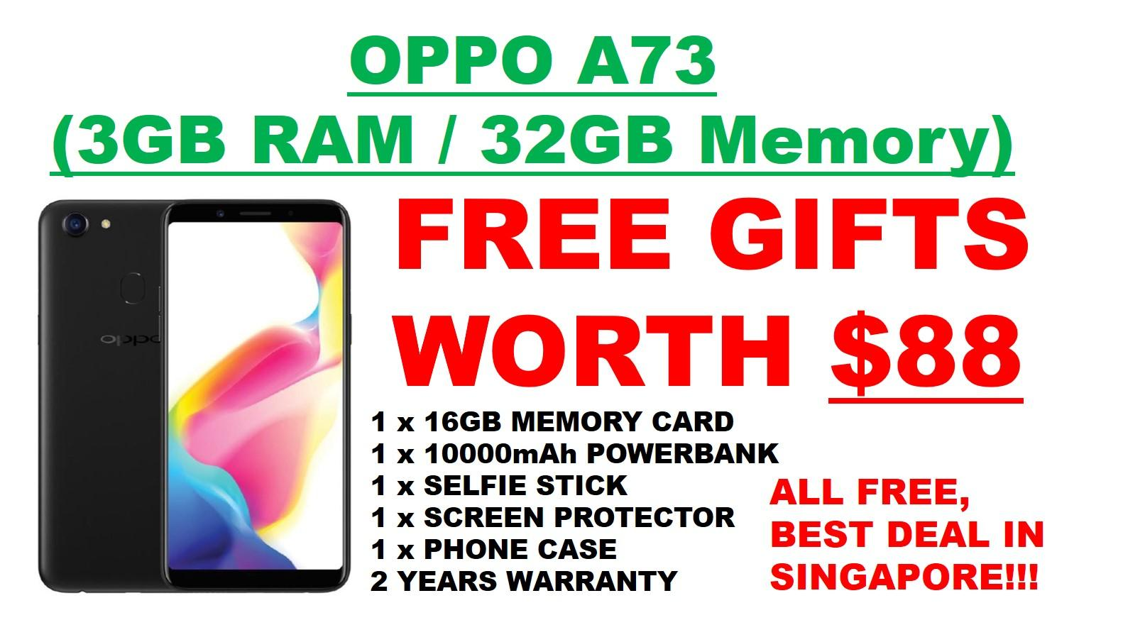 Discount Oppo A73 Free Gifts Worth 88 Singapore