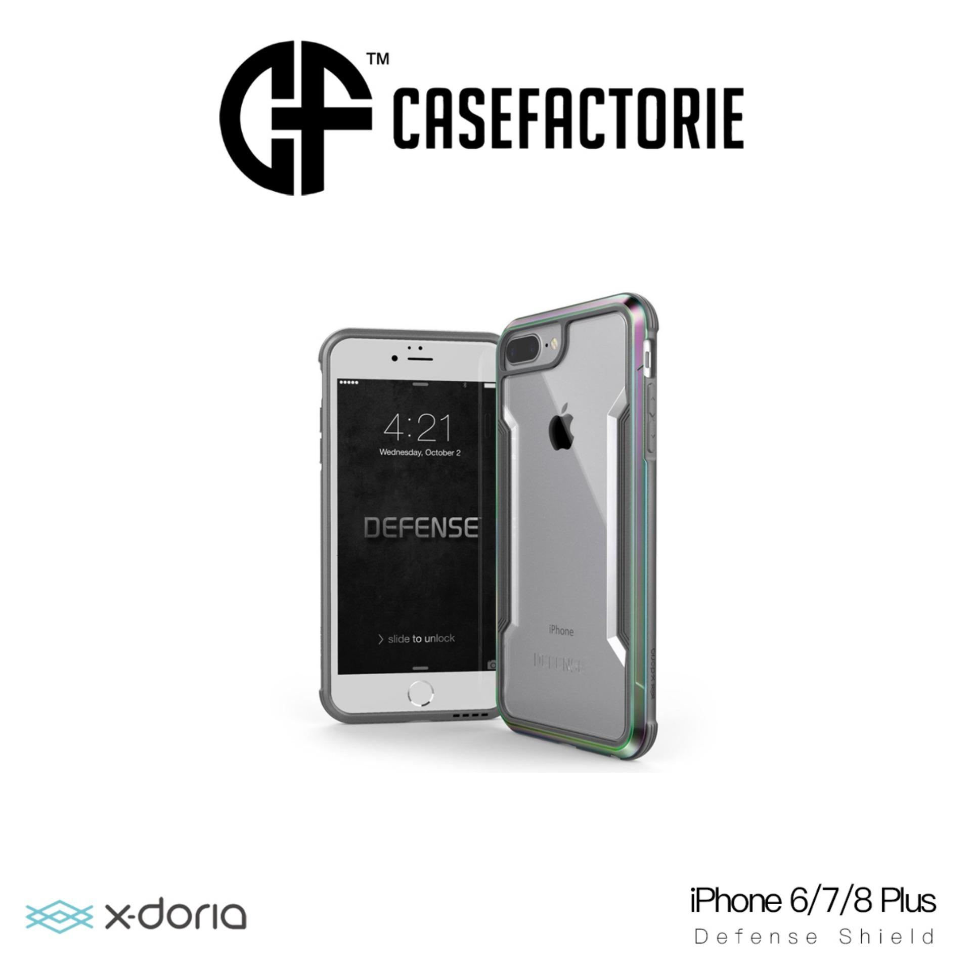 Recent X Doria Defense Shield Case For Iphone 6 7 8 Plus Iridescent