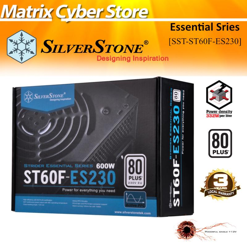 Best Reviews Of Silverstone Essential Series 600W Sst St60F Es230 80Plus Atx Power Supply