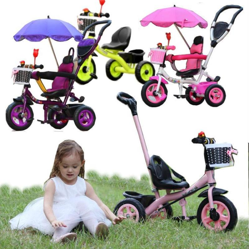 4 in 1 Baby Tricycle / Baby Stroller / Multifuntion and Multi-Color / Use Multi age / Free Delivery Fee Singapore
