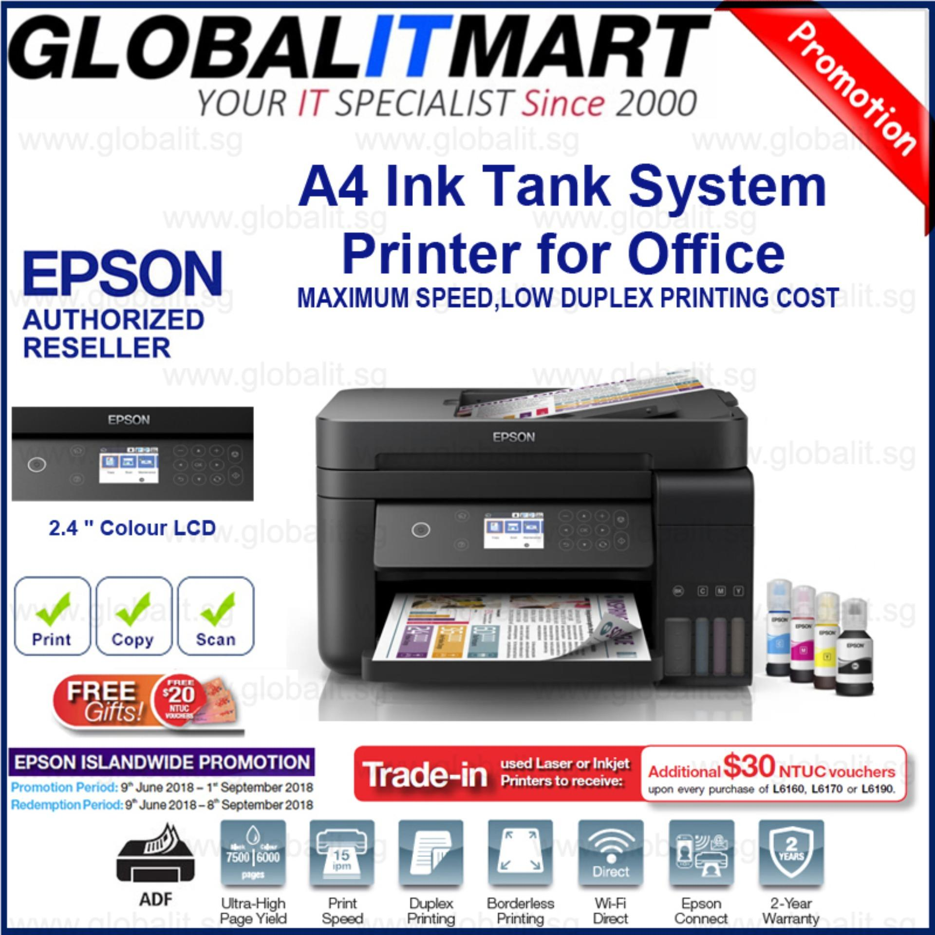 Epson L6170 Wi Fi Duplex All In One Ink Tank Printer With Adf Sale