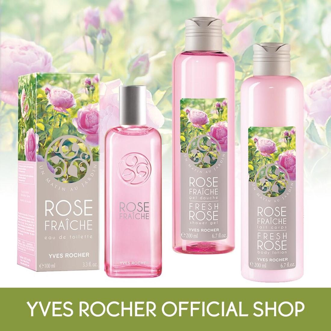 How To Get Yves Rocher Fresh Rose Set