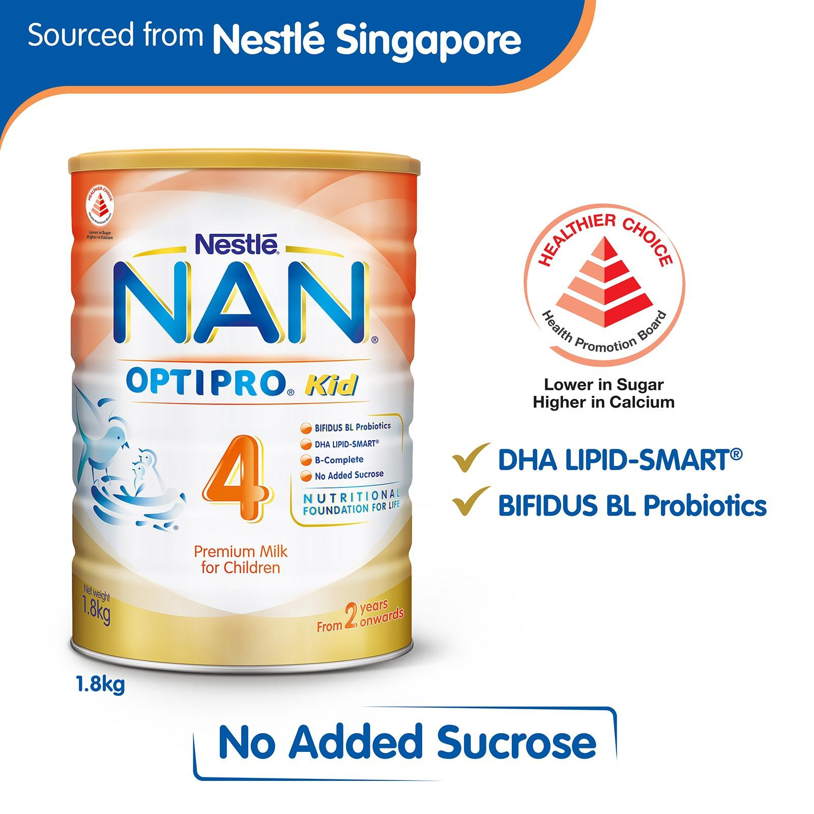 Buy Nestle® Nan® Optipro Kid 4 Growing Up Milk 1800G Nan Online