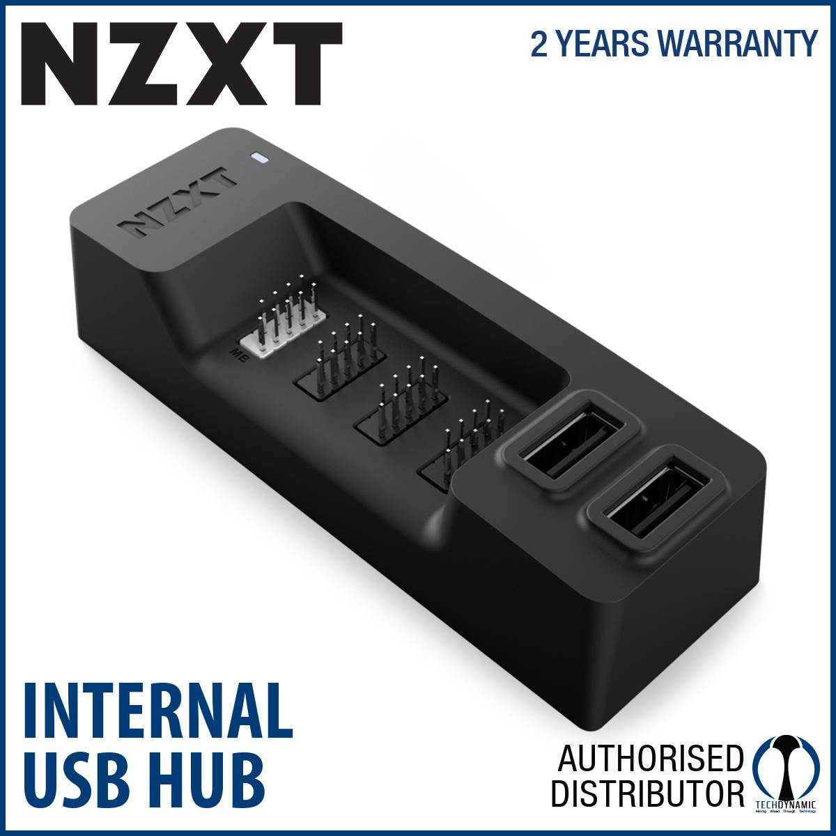 Nzxt Internal Usb Hub Port Expansion Black Coupon