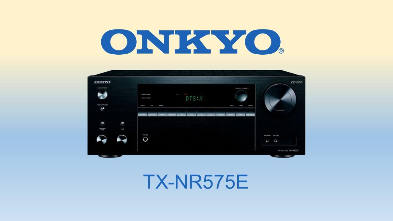 Buy Onkyo Tx Nr575E 7 2 Channel Network A V Receiver Onkyo Online