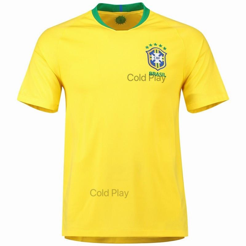 Get The Best Price For Top Quality Brazil National Team 2018 World Cup Home And Away Football Jersey