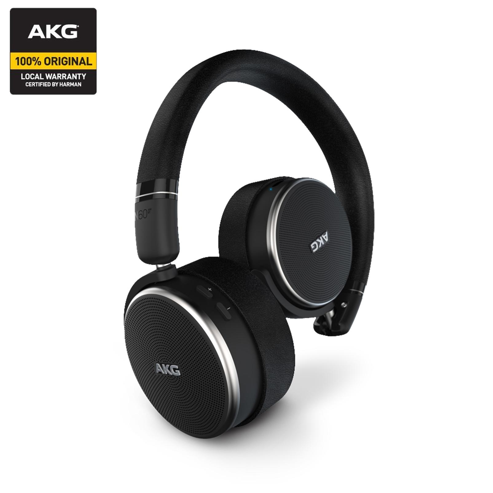 Discount Akg N60Nc Wireless On Ear Wireless Headphones With Active Noise Cancellation Akg On Singapore