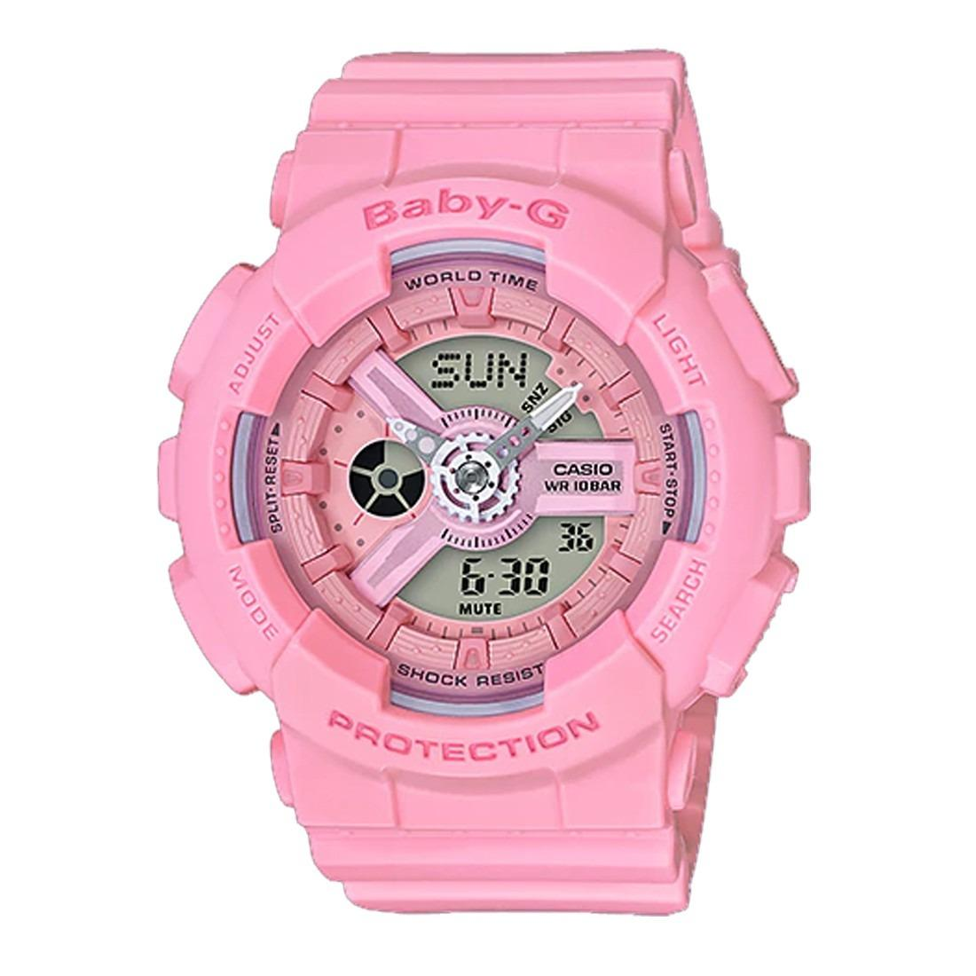 Sales Price Casio Baby G Sporty Pink Watch Ba 110 4A1 Ba 110 4A1Dr Ba 110 4A1Er