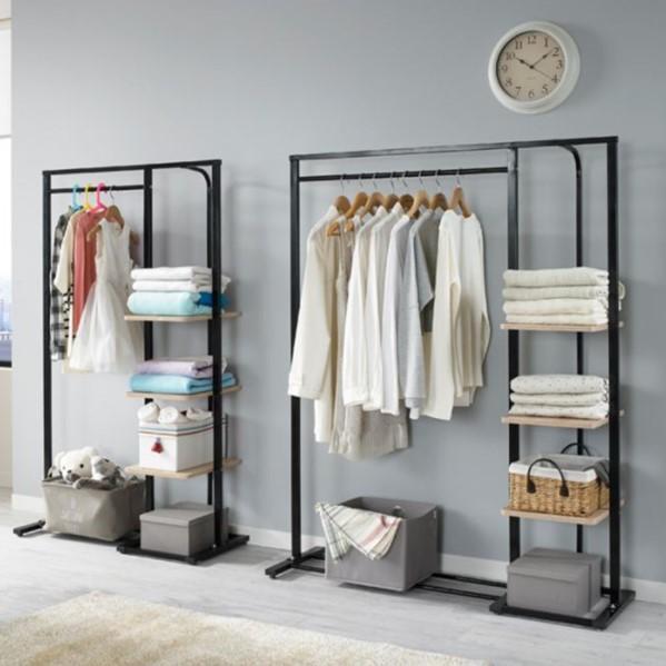 90cm Simple Modern Clothes Rack (Black)