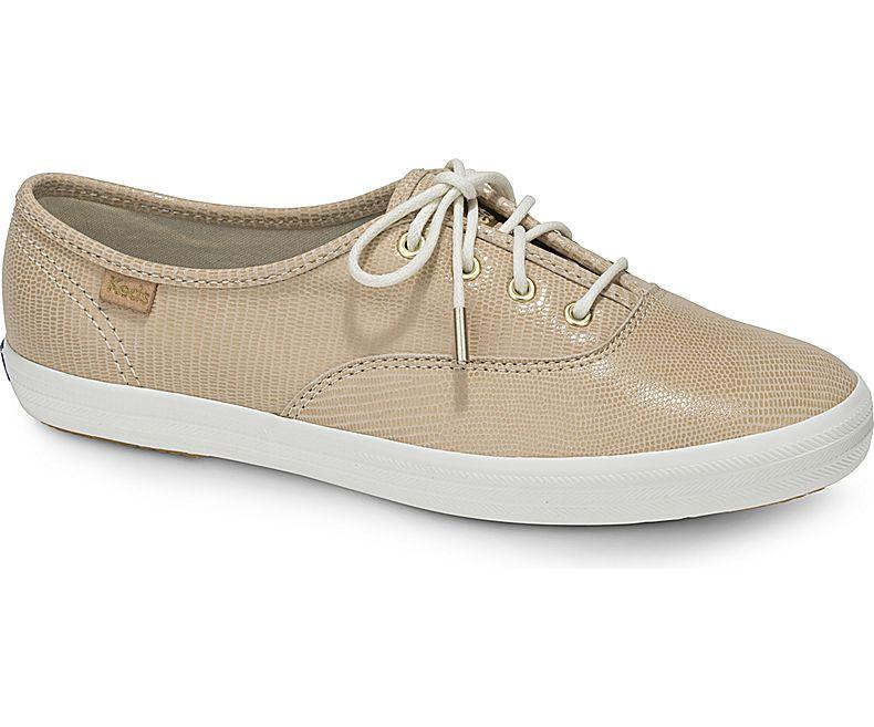 Keds Champion Pretty Leather Sneakers