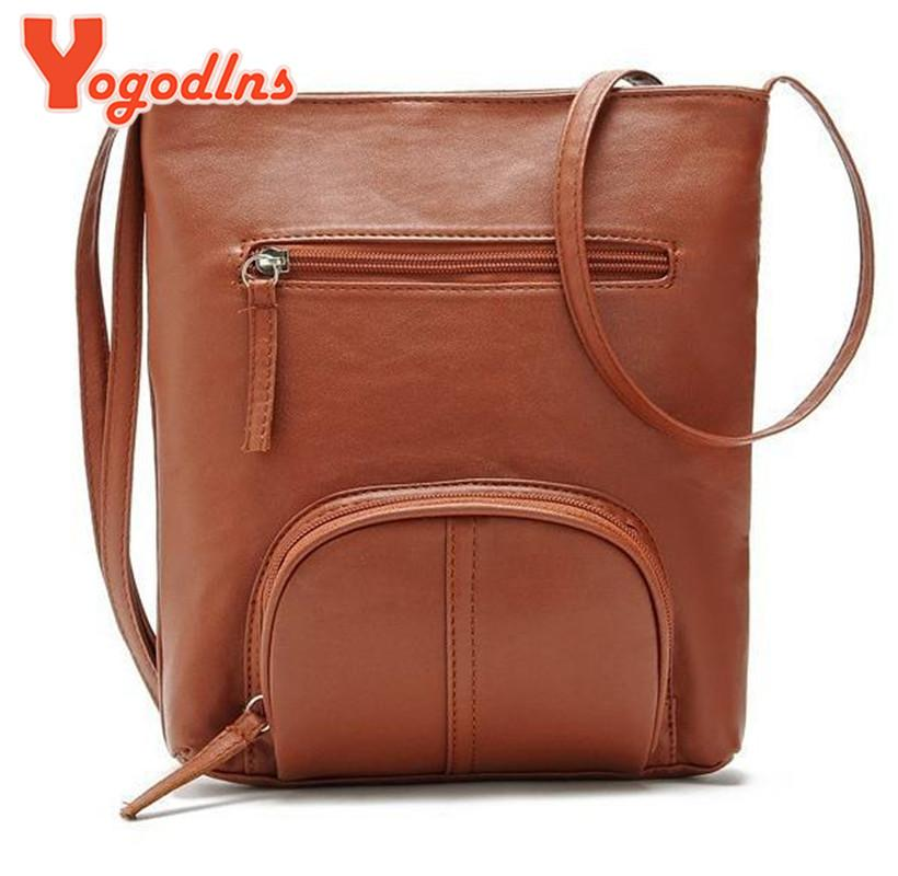 30819c2962 Yogodlns Design messenger bags women leather handbags women bag ladies  famous brands bolsa feminina Shoulder Bags