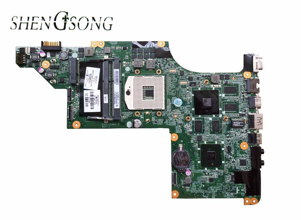 605320-001 Original laptop mainboard 615307-001 for HP Pavilion DV7 DV7-4000 motherboard DA0LX6MB6H1 - intl