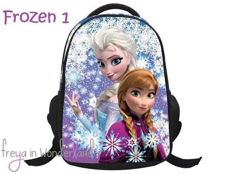 5 Designs Frozen Elsa Anna Olaf Kids 3D School Bag Shoulder Child Handbag