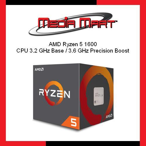 Price Comparisons Amd Ryzen 5 1600 Cpu 3 2 Ghz Base 3 6 Ghz Precision Boost