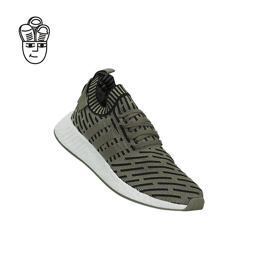 91bacf8a9a095 Adidas NMD R2 (Primeknit) Lifestyle Shoes Men ba7198 -SH