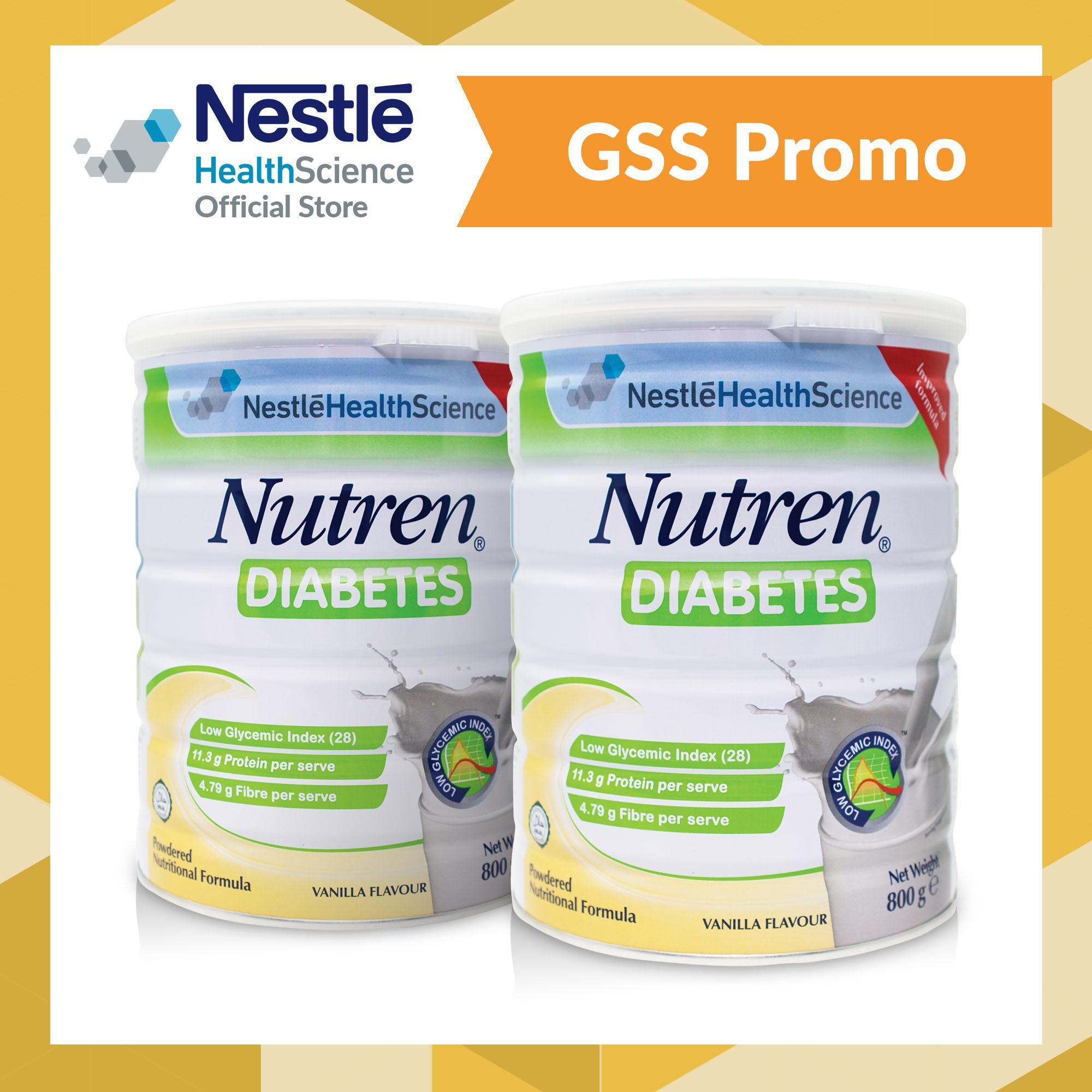 Nutren® Diabetes Powder 800G X 2 On Singapore