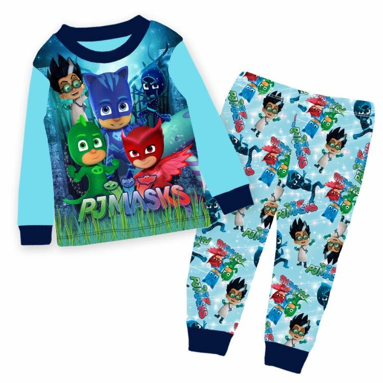 Discount Kids Clothes Pj Mask Pajamas Set Oem Singapore