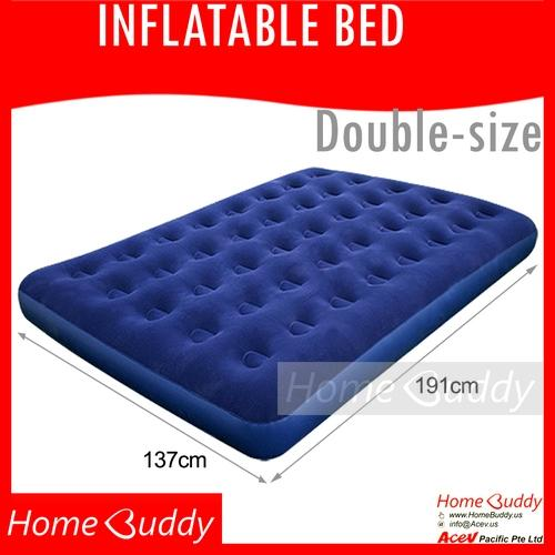 Inflatable Bed Width 137Cm Length 191Cm Height 22Cm Double Pn 67002 Ready Stocks Sg Reach You 2 To 4 Work Days Homebuddy Acev Bestway Sports Air Mattress For Sale