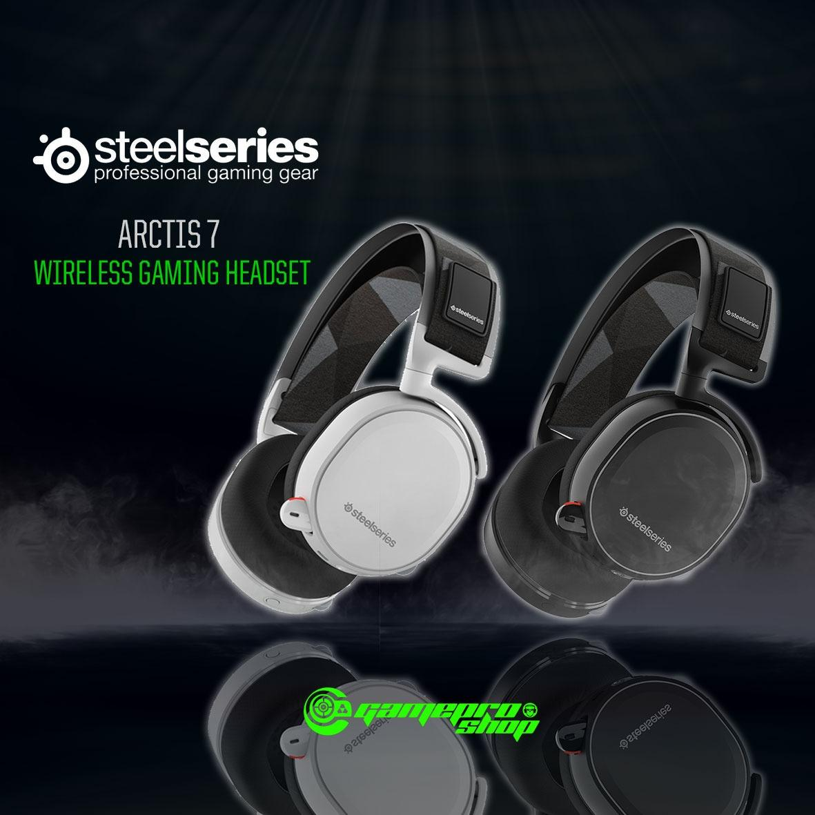 STEELSERIES ARCTIS 7 WIRELESS HEADPHONE- (WHITE) *GSS PROMO*
