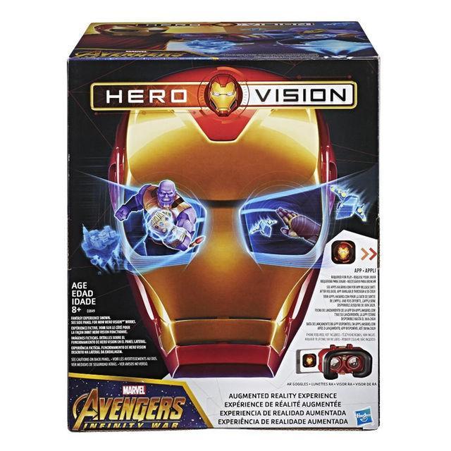 Marvel Avengers Infinity War Hero Vision AR Experience Iron Man