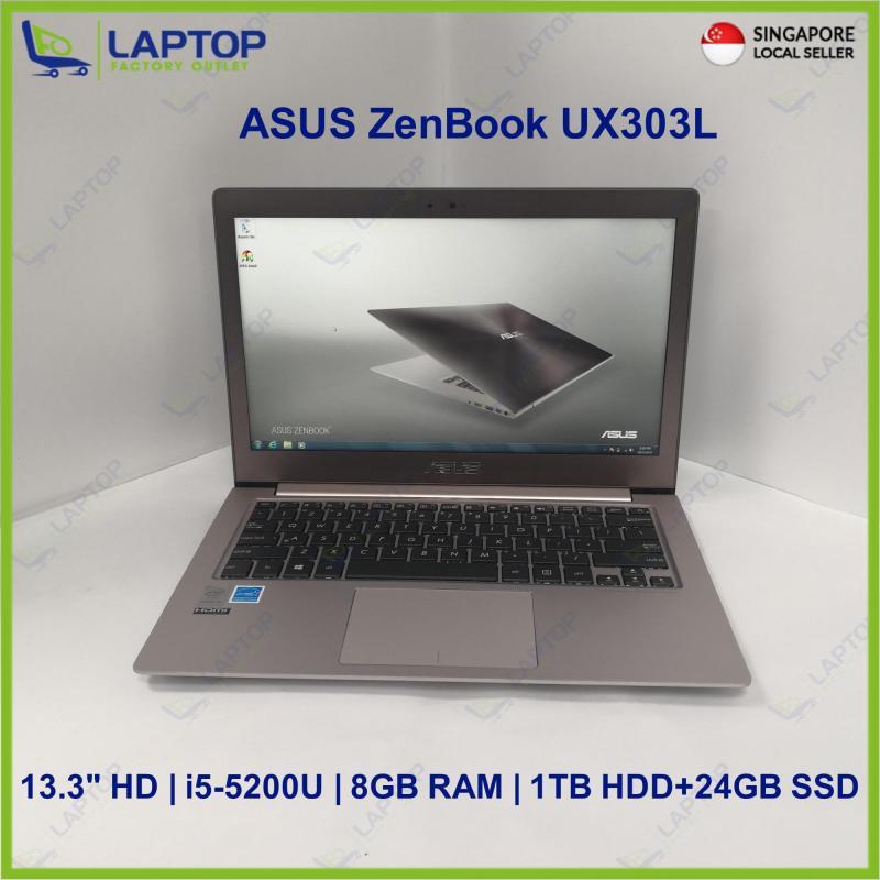 ASUS ZenBook UX303L (i5-5/8GB/1TB+24GB) Preowned [Refurbished]